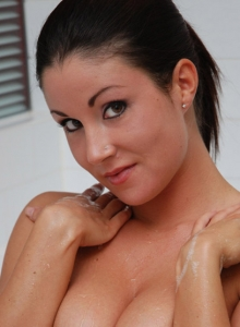 Krissy gets naked and soapy in the bathtub from Sweet Krissy
