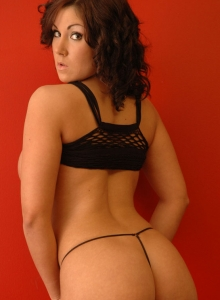 Krissy in Black Mesh from Sweet Krissy