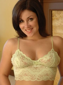 Krissy Strips Out Of Her Skimpy Little Lace Lingerie Outfit For The Camera - Picture 7