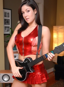 Krissy makes the perfect rocker chick from Sweet Krissy