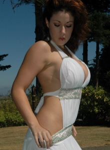 Krissy Busting Out Of Her Dress - Picture 3