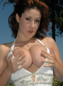 Krissy Busting Out Of Her Dress - Picture 8